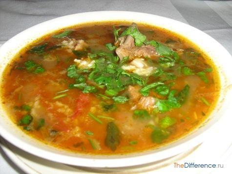 Чем отличается суп от похлебки?