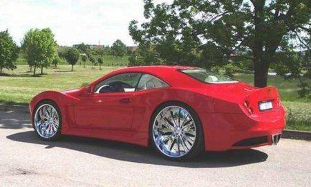 Уникальный суперкар excalibur - ag excalibur автомобиль кузов