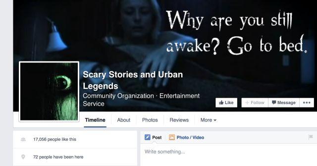Scary Stories et Urban Legends