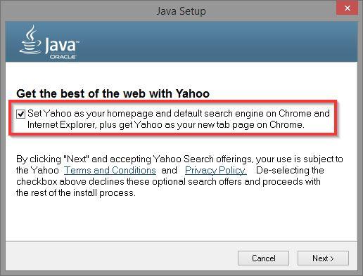 3.1 Installation de Java