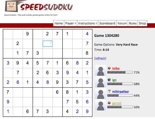 Speed-Sudoku