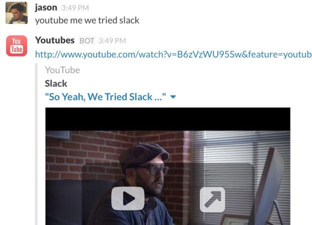 youtubeslack