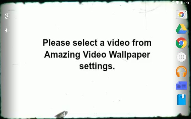 AndroidLiveWallpaper-VideoWall