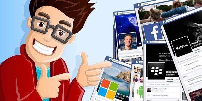 35 Pages les plus populaires de facebook dans le monde geek