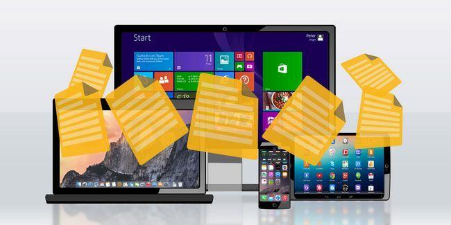 Moyens les plus rapides pour transférer des fichiers entre les pc et les appareils mobiles