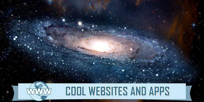 5 Sites pour voir et fascinant explorer l`univers