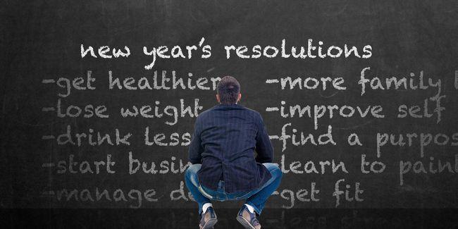 5 Erreurs que vous cessiez vos résolutions de nouvelle année