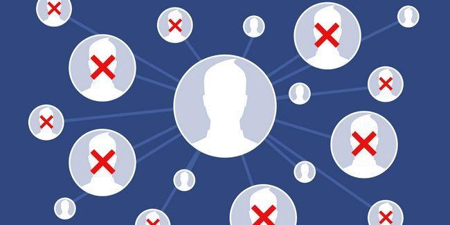 5 Raisons pour lesquelles vous devriez commencer à supprimer des amis facebook