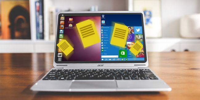 5 Façons de partager des données personnelles sur les fenêtres linux-pc à double démarrage