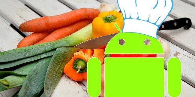 5 Façons votre appareil android peut vous aider dans la cuisine