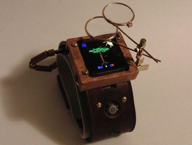 steampunk-montre