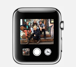 Apple watch_, à distance