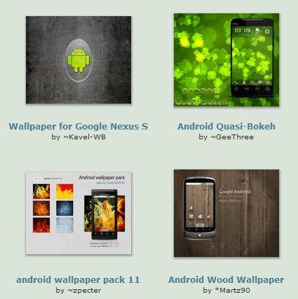 Fonds d`écran de téléphone Android