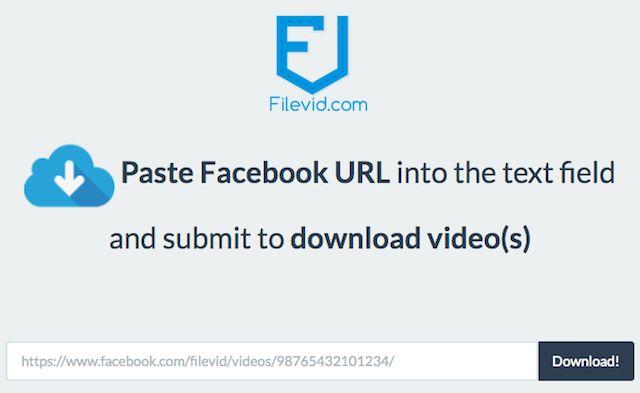 Facebook-Photos-Vidéos-Télécharger-Filevid