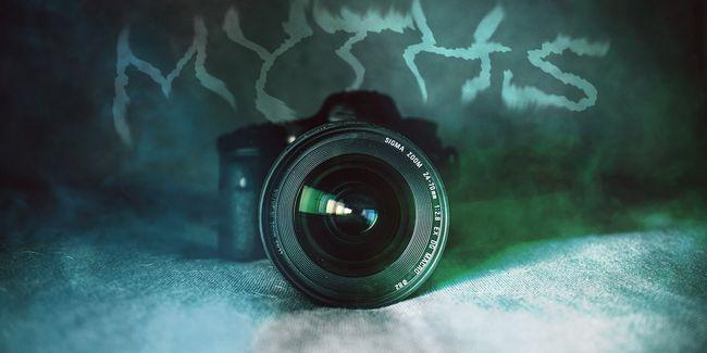 8 Mythes de l`appareil photo, vous devriez cesser de croire immédiatement