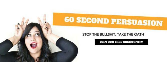 60 secondes persuasion