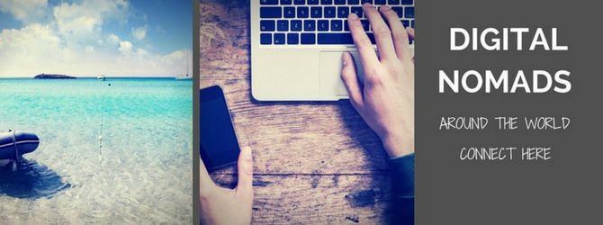 nomades numériques à travers le monde