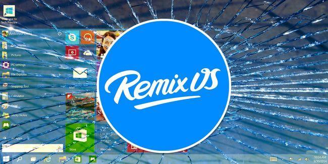 Une vraie alternative sous android à windows: remix os 2.0