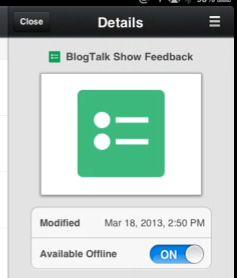 app documents google ipad