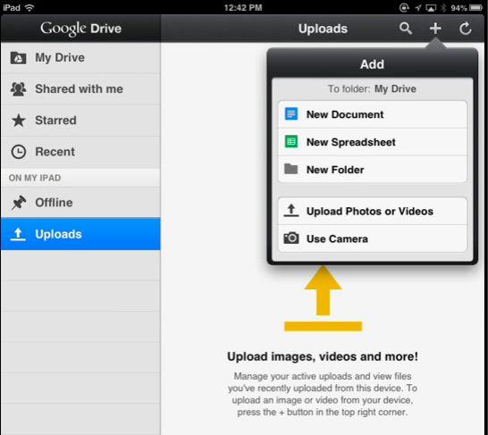 google documents app iphone
