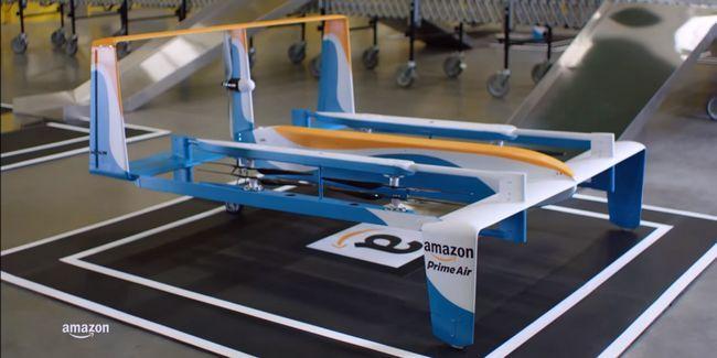Amazon taquine les livraisons de drones, sweden sauve la baie de pirate ... [Nouvelles tech digest]