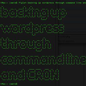 Automatisez votre sauvegarde de script avec wordpress shell simple et cron