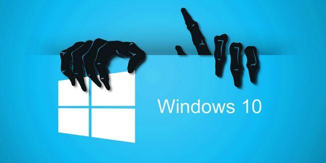 Méfiez-vous des escroqueries qui se cachent derrière les fenêtres libres 10 mise à niveau