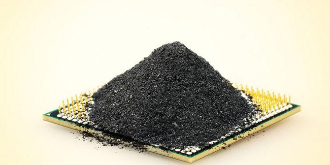 Noir pourrait phosphore l`avenir de puces électroniques?