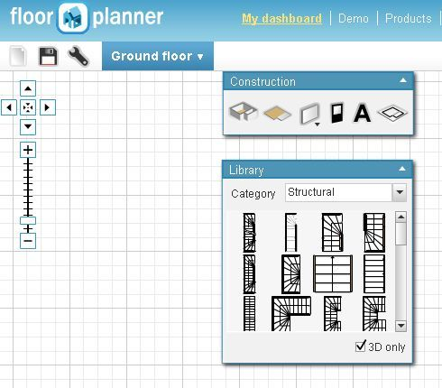 créer plan d`étage