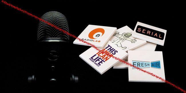 Ne pas comme les podcasts? Lire 17 alternatives aux spectacles les plus populaires