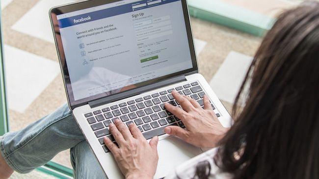 ordinateur portable facebook