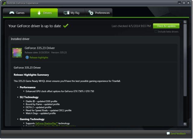 nvidia-graphics-pilote-update-geforce-expérience