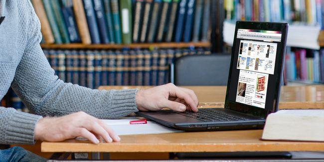 Obtenez productif maintenant avec le meilleur navigateur de retour à l`école mis en place