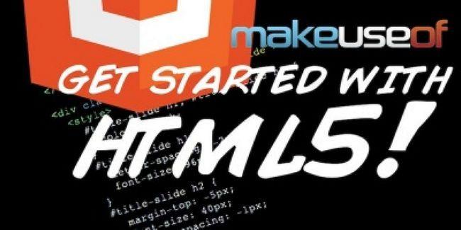 Commencez avec html5