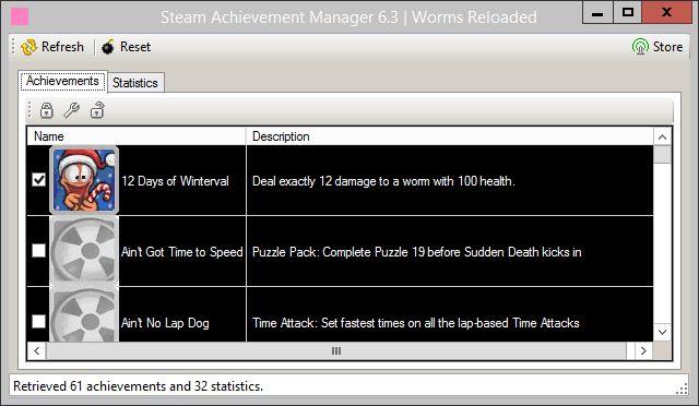 Gestionnaire de réalisation Steam