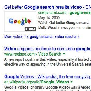 Obtenir riches aperçus vidéo d`extrait dans vos résultats de recherche
