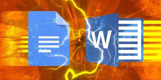 Docs google vs microsoft word: le match de la mort pour l`écriture de recherche