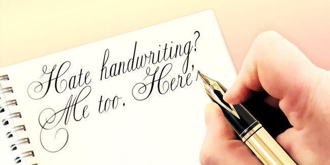 Haine écriture? Moi aussi. Voici pourquoi nous devrions enseigner de toute façon.