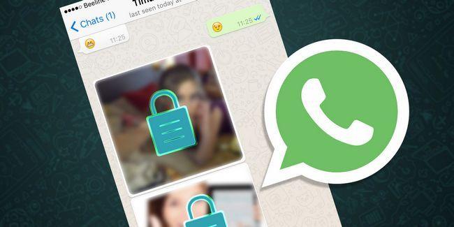 Comment la sécurité sont mes photos sur whatsapp?