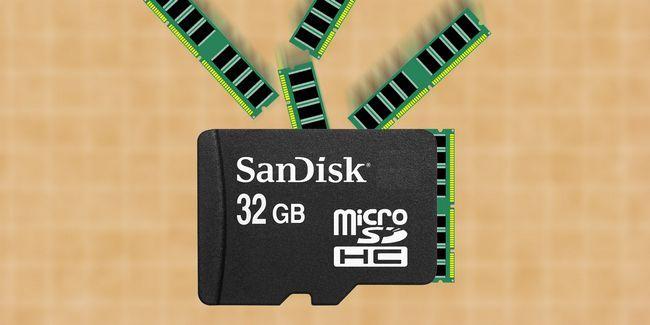 Comment ajouter plus de ram à votre appareil android avec une carte microsd