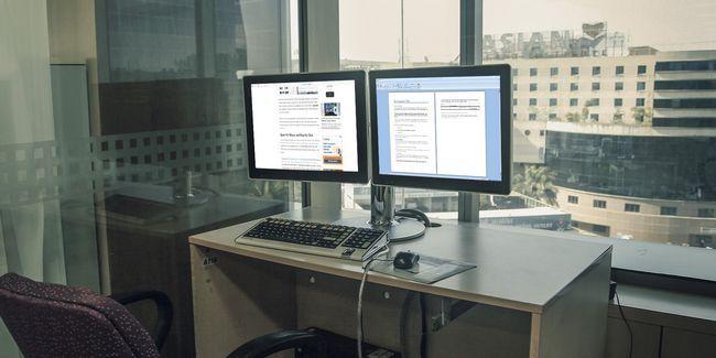 Comment être plus productif avec deux moniteurs