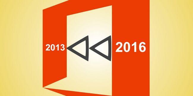 Comment déclasser du bureau 2016 au bureau 2013 et bloquer la mise à niveau