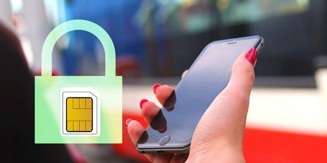 Comment chiffrer et définir un verrouillage de la carte sim sur un appareil mobile