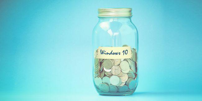 En outre, microsoft peut monétiser windows 10