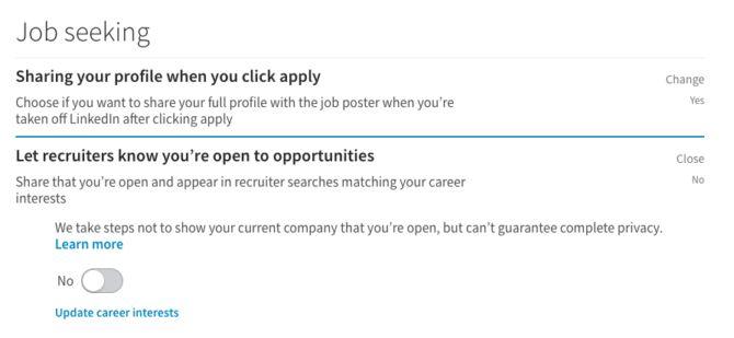 recherche d`emploi linkedin