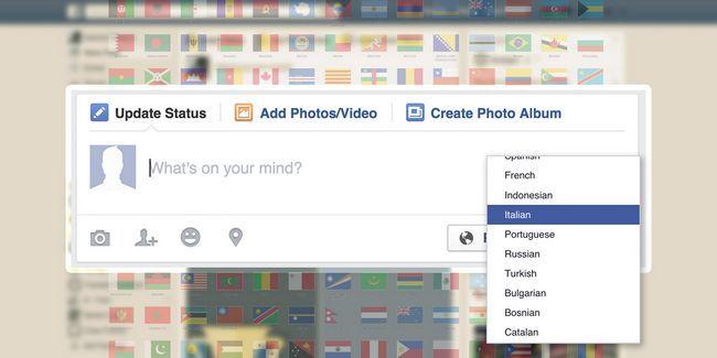 Comment publier en plusieurs langues sur facebook