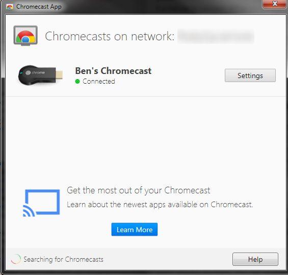 Chromecast-PC-Settings