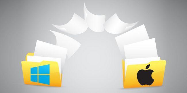 Comment partager des fichiers entre windows et mac sans parachutages