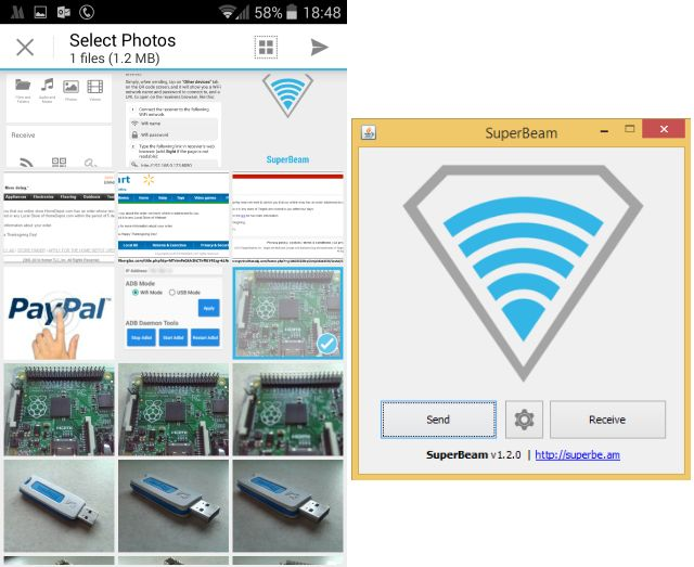 Muo-android-pc-data-partage Wi-Fi Direct