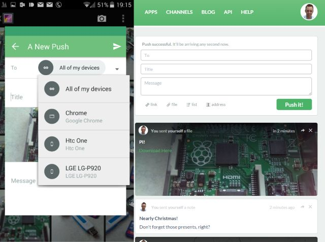 Muo-android-pc-data-partage pushbullet